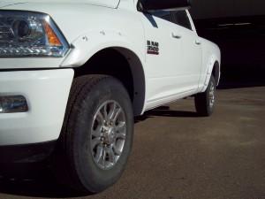 white rock guard fender flares